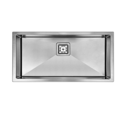 swedia super bowl stainless steel kitchen sin with free sink protector