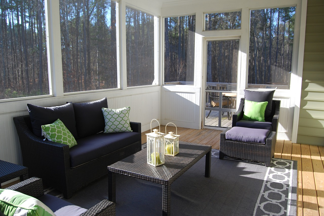 sunroom as family room