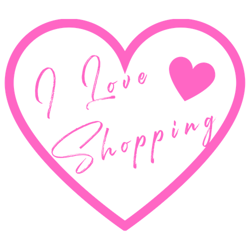 I love shopping in heart shape