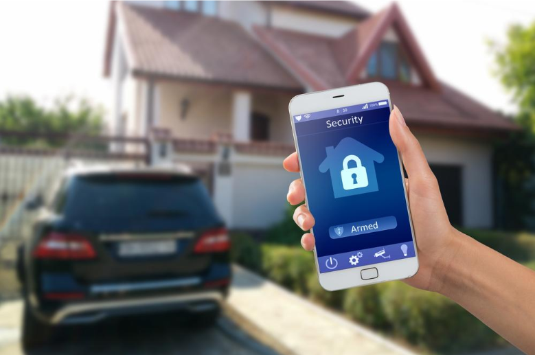 home security phone app