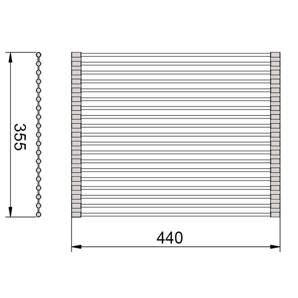 rollable-drainer-tray-dimensions