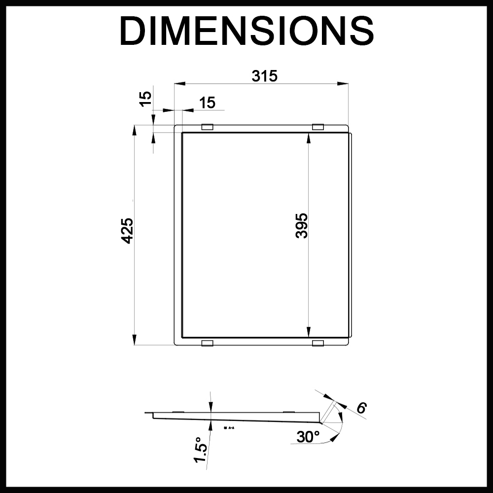 swedia-sink-drainer-tray-dimensions