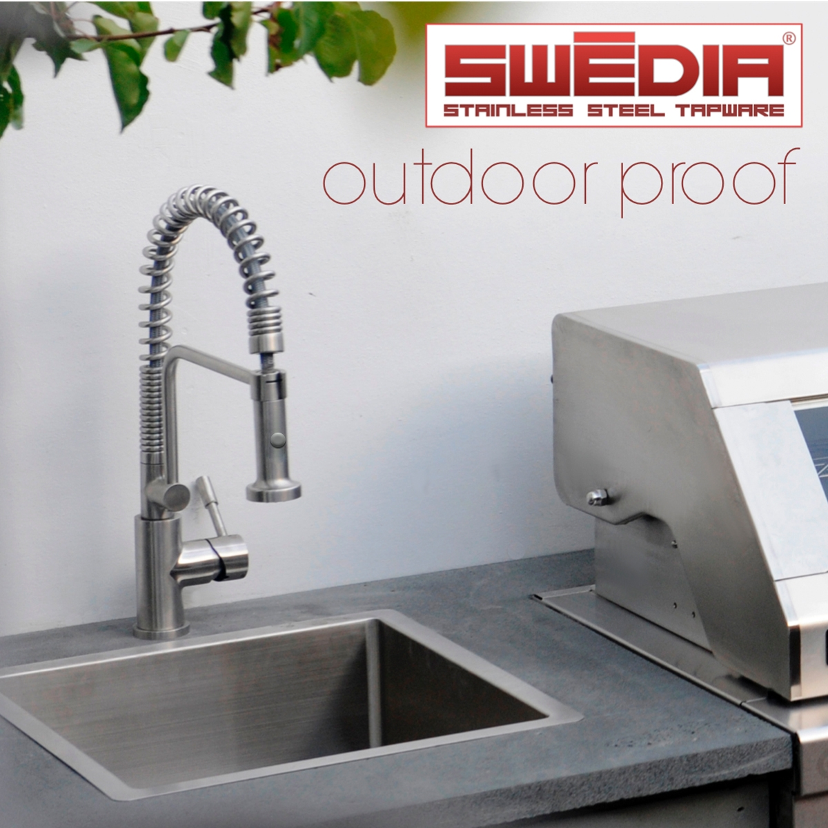 outdoor kitchen tap that will not rust