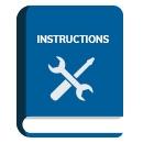 instruction manual blue